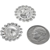 Navajo Made Silver Western Conchos 33349