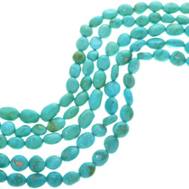 Real Natural Kingman Turquoise Beads 31980