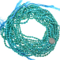 Blue Green Turquoise Nugget Beads 31980