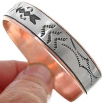 Native American Copper Cuff Bracelet 33357