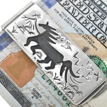 Horse Design Western Money Clip 33358