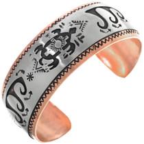 Navajo Copper Silver Cuff 33362
