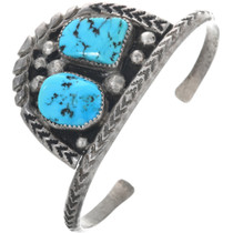 Old Pawn Sleeping Beauty Turquoise Bracelet 33370