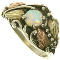 Vintage 10K Gold Opal Ring 33378