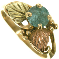 Vintage Gold Aquamarine Ring 33379
