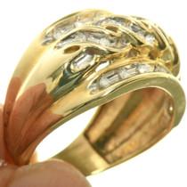 Vintage Gold Ring 33384