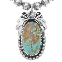 Native American Sterling Silver Genuine Turquoise Jewelry 29865