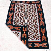 Teec Nos Pos Navajo Rug 33386