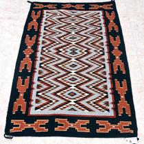 Large Vintage Navajo Wool Rug 33386