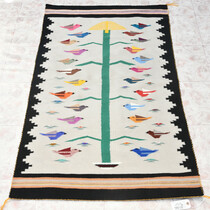 Navajo Tree of Life Pictorial Rug 33397
