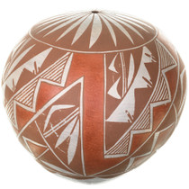 Hand Made Acoma Tribe Seed Pottery 33500