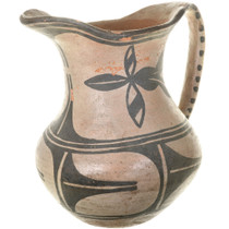 Antique Acoma Pitcher Pueblo Pottery 33501