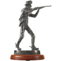 Vintage Union Army Marksman Bronze Sculpture 33509