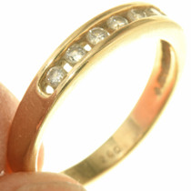 Diamond 14K Yellow Gold Ladies Ring 33516