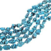 Natural Campitos Turquoise Beads 33404