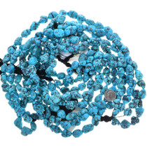 Sky Blue Turquoise Beads Untreated 33413