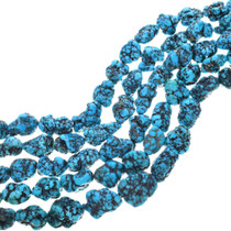 Deep Blue Natural Spiderweb Turquoise 33414