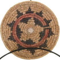Vintage Navajo Wedding Basket 33529