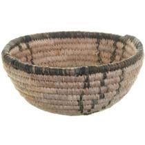 Vintage African Basket Bowl 33530