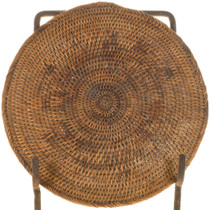 Early 20th Century Navajo Woven Tray Basket 33533