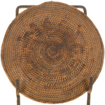 Antique Navajo Basket Tray 33533