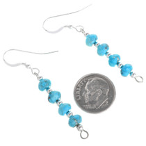 Beaded Turquoise Earrings 33545