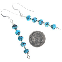 Beaded Turquoise Earrings 33546