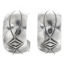 Navajo Made Sterling Earrings 33548