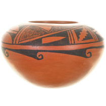 Hand Built Polacca Redware Pottery 33556