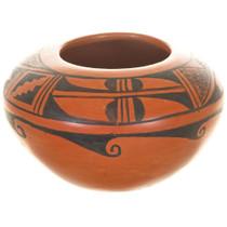 Vintage Hopi Tewa Pottery Bowl 33556