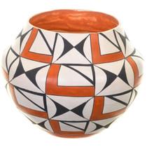 Vintage Acoma Olla Pottery 33557