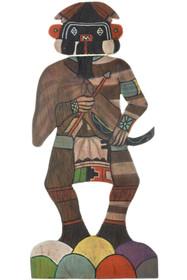 Vintage Flat Hopi Kachina Doll 33573
