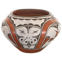 Vintage Zia Polychrome Olla Pottery 33593