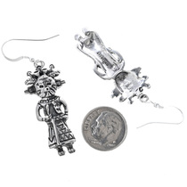 Navajo Kachina Dangle Earrings 33595