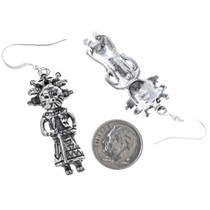 Navajo Kachina Dangle Earrings 33595