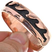Native American Copper Wave Bracelet 33598