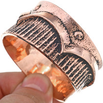 Copper Cuff Navajo Heavy Gauge Bracelet 33600