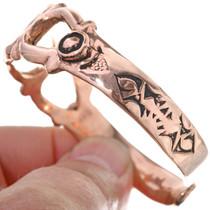 Copper Cuff Openwork Bracelet 33605