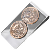 Indian Head Penny Money Clip 33609