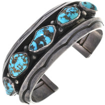Old Pawn Kingman Turquoise Nugget Cuff 33618