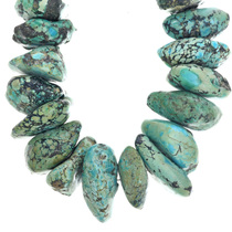 Fox Turquoise Nugget Necklace 33637