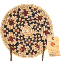 Vintage Navajo Handwoven Basket 33654
