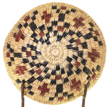 Eye Dazzler Navajo Handwoven Basket 33654