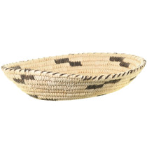 Coyote Tracks Pattern Papago Indian Basket 33657