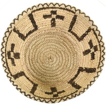 Indian Basket Cross Pattern Bowl 33658