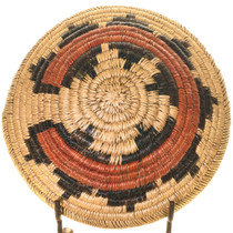 Traditional Handwoven Navajo Wedding Basket 33659