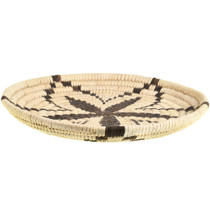 Small Vintage Papago Indian Tray Basket 33661