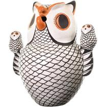 Vintage Acoma Owl Storyteller Pottery 33667