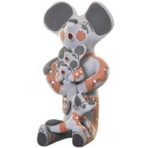 Vintage Jemez Storyteller Mouse Pottery 33668