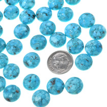 Round Turquoise Cabochons 33423